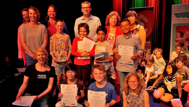 Schrijfwedstrijd Theater Ludens 28 mei 2016, foto Ot Douwes